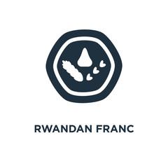 rwandan franc icon