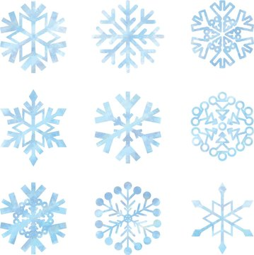 雪の結晶(セット)
