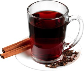 Mulled Wine - Isolated