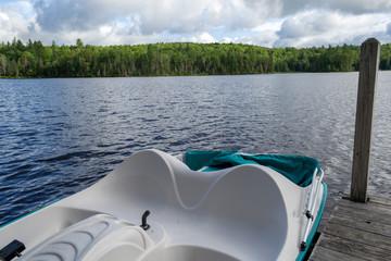 Indian lake at the Adirondack in upstate NY (USA)