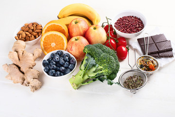 Food sources of natural antioxidants