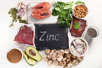 Foods High in Zinc.