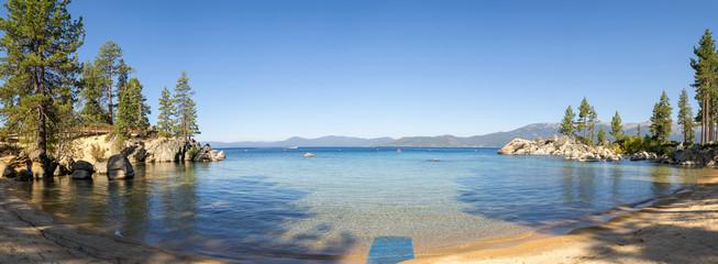 Beach at Sand Harbor in Lake Tahoe