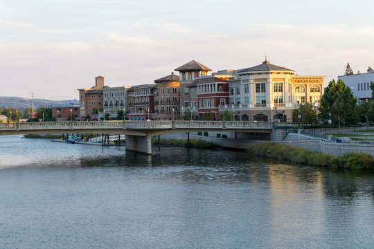 Riverfront at Napa city