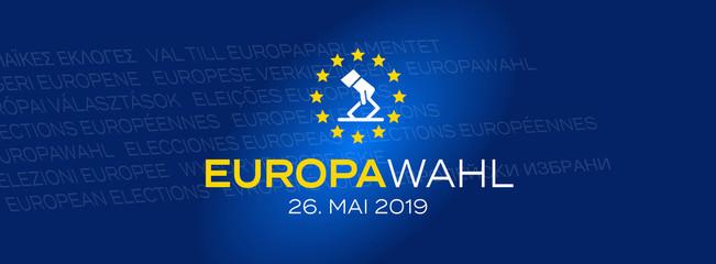 Europawahl 2019 / 26. Mai 2019 Fototapete