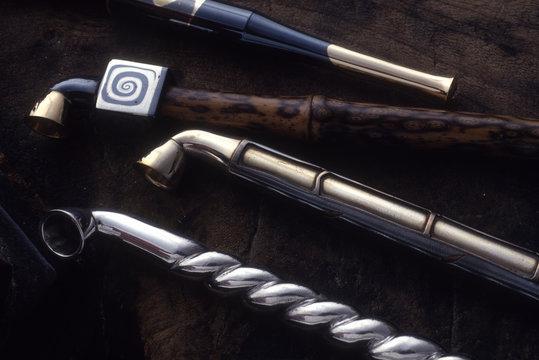 伝統工芸の煙管、製品