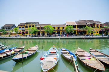 Hoai river, Hoi An, Viet Nam