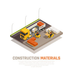 Construction Supplies Delivery Background