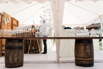 weddind tent catering. Marquee white