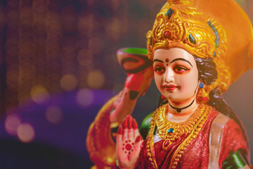 Indian Festival Diwali , Laxmi Pooja