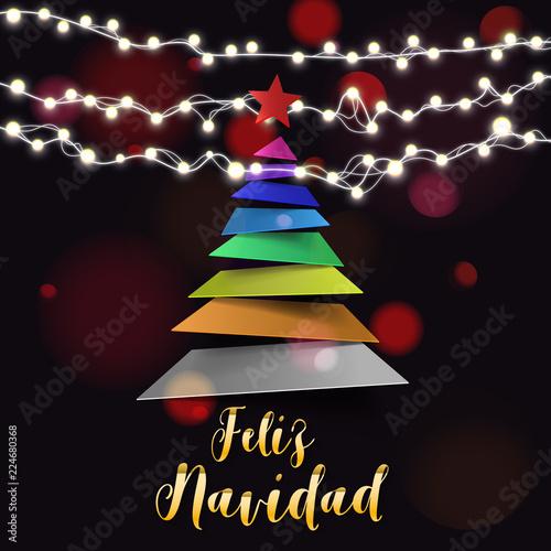 Spanish christmas and happy new year greeting card stock image and spanish christmas and happy new year greeting card m4hsunfo