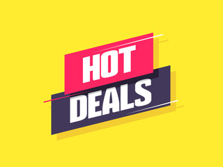 Hot Deals Label