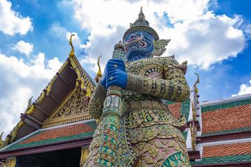 タイ王宮の守り神(Thai Grand  Palace)