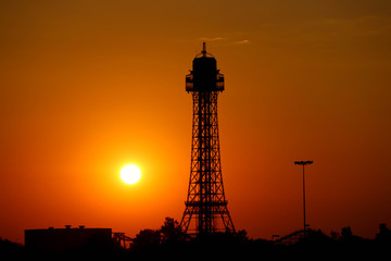 Tower Silhouette
