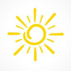 soleil vecteur