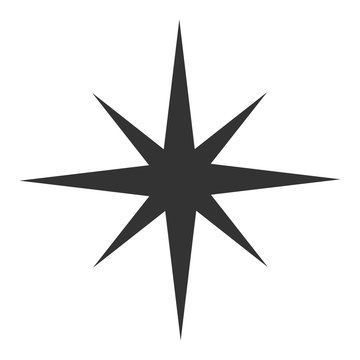 Black star icon