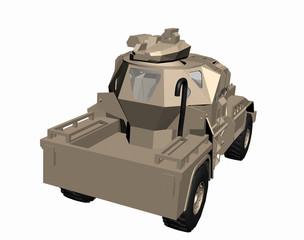 Militärisches gepanzertes Fahrzeug