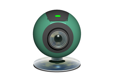 Grüne Webcam