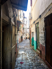 Casbah Of Algiers. Streets of the old town.