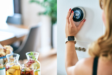 Thermostat, Home Energy Saving,  temperature control