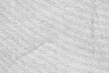 Natural linen texture./ White canvas background