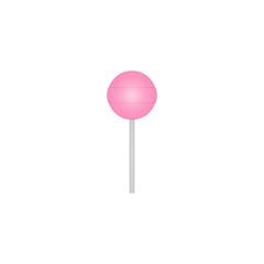 Lollipop vector icon. Chupa Chups