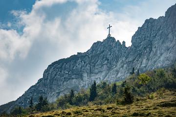Top of Kampenwand Bavaria