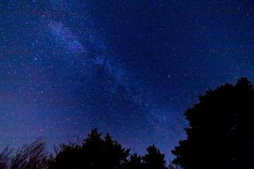 夜の星ケ城山山頂