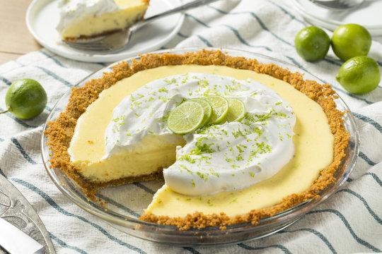 Sweet Homemade Key Lime Pie
