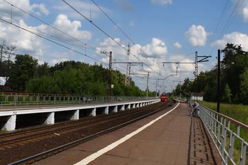 The railway way. Journey through Russia.
