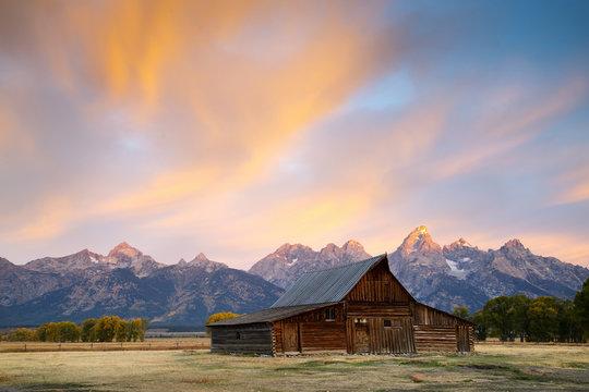 Sunrise at the Grand Tetons