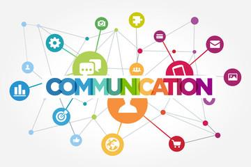 communication Fototapete