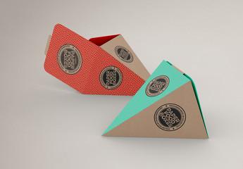 Cone Box Mockup