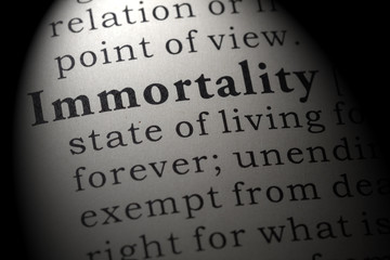 definition of immortality Wall mural