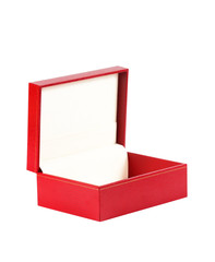 red gift box. isolated on white background