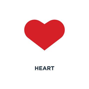 heart icon. like concept symbol design, vector illustration
