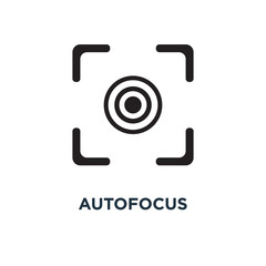 autofocus icon. digital photo camera, image concept concept symb