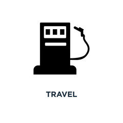travel icon. vacation and tourism concept symbol design, hotel and symbols vector illustration