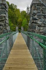 Swinging Bridge at Jay Cooke State Park in Minnesota