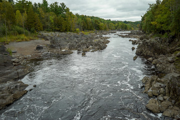 St. Louis River at Jay Cooke State Park in Northern Minnesota