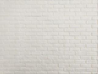 Close up white brick wall