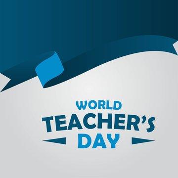 world teacher day design