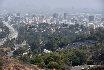 Hollywood Bowl and 101 Freeway
