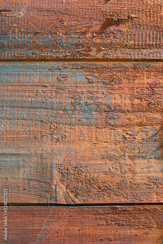 Blue Painted Wooden Texture With Scratches Old Rustic And Vintage Background