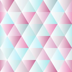 Abstract polygon color graphic triangle pattern.