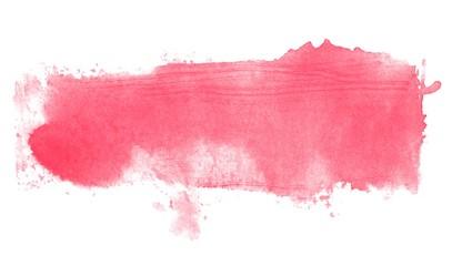 Wasserfarbe Streifen in rot