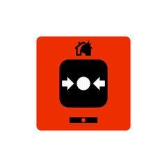 Fire alarm emergency button