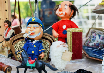 Vintage Soviet toys of the 1960s and 1970s.