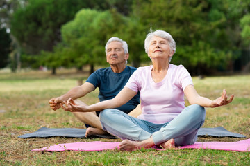 Elderly Yoga Photos Royalty Free Images Graphics Vectors Videos Adobe Stock