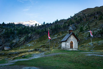 Chapel in Adamello Brenta National Park, South Tyrol, Italy